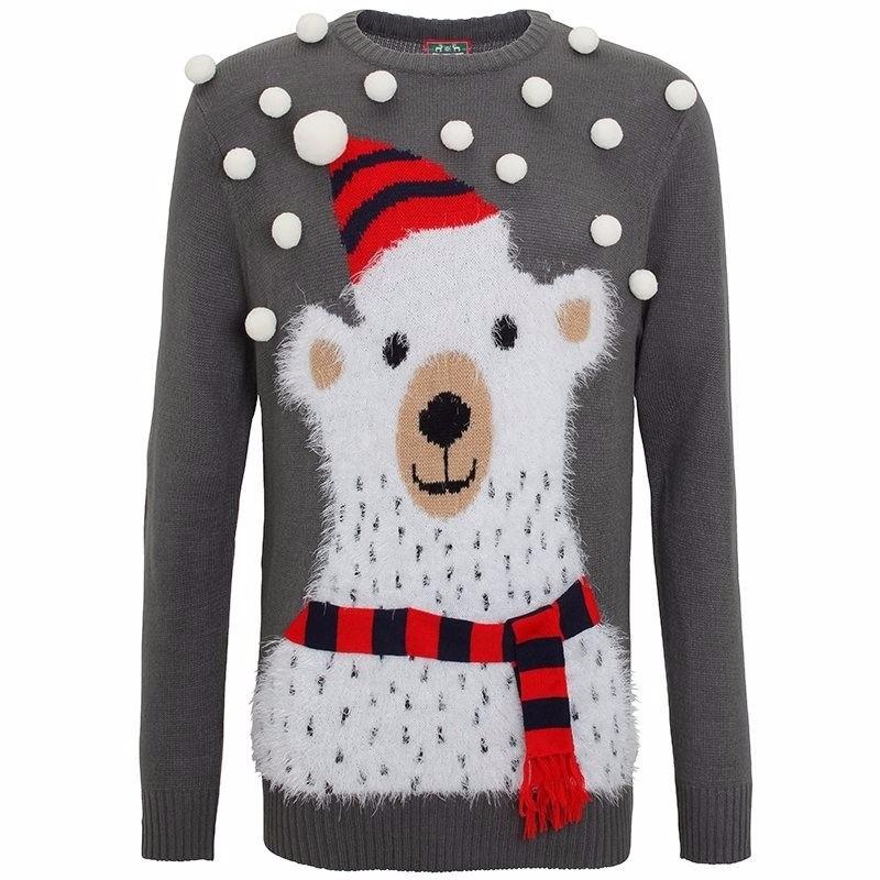 Frozen Kersttrui.Ijsbeer 3d Kersttrui Kersttruien Heren Knuffels Shop Nl